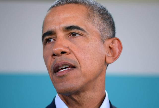 US President Barack Obama has said he doesn't believe Donald Trump will be elected President.