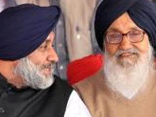 Badal govt,Punjab chief minister,Punjab