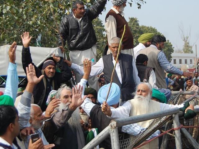 Bhartiya Kissan Union-Lakhowal,octogenarian,Chandigarh-Punjab border