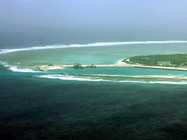 South China Sea,Militarisation,US-China
