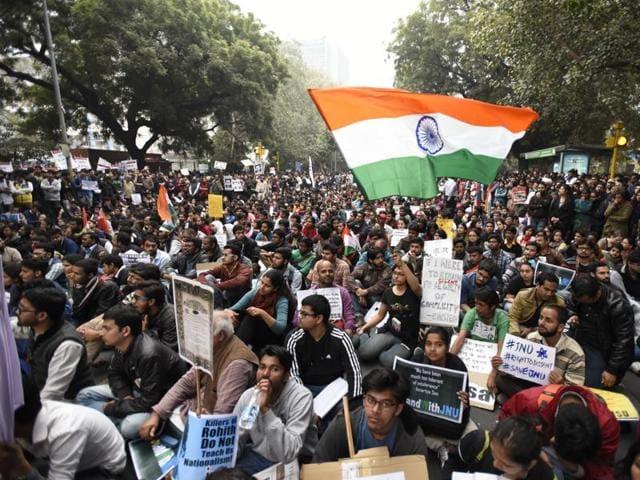 JNU row,Anti-Amit Shah actions,JNU controversy