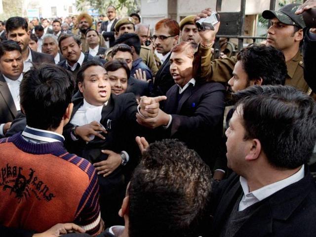 JNU row,Patiala House violence,Rajeev Dhawan