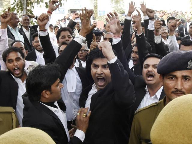 JNU row,JNUSU president Kanhaiya Kumar,Patiala House Courts