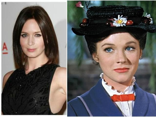 Emily Blunt,Disney,Mary Poppins