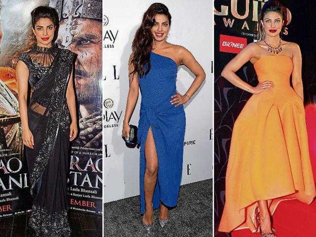 Actress Priyanka Chopra arrives at the 22nd Screen Actors Guild Awards in Los Angeles, California January 30, 2016.