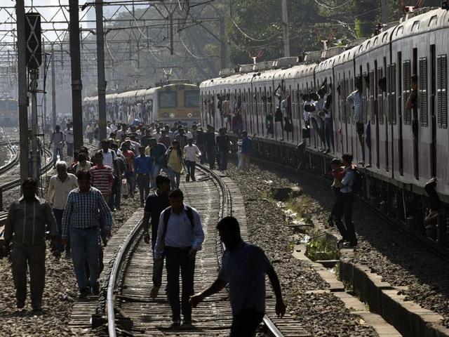 Mumbai Local train,Vidyavihar,Kurla