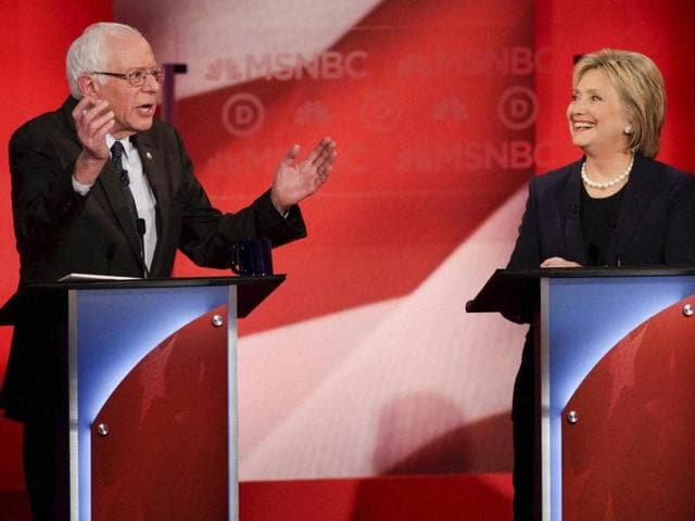 Bernie Sanders has overtaken Hillary Clinton for the first time in a new national poll.