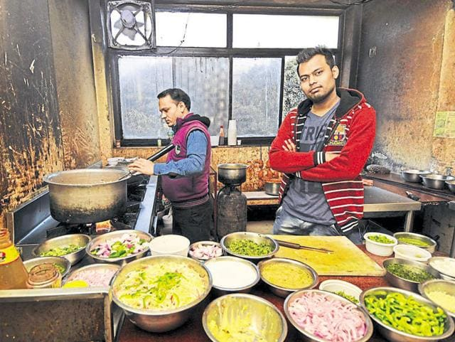 Ram Shankar Gupta, 25, quit his job with an IT firm to open a food delivery service for those working on night shifts.