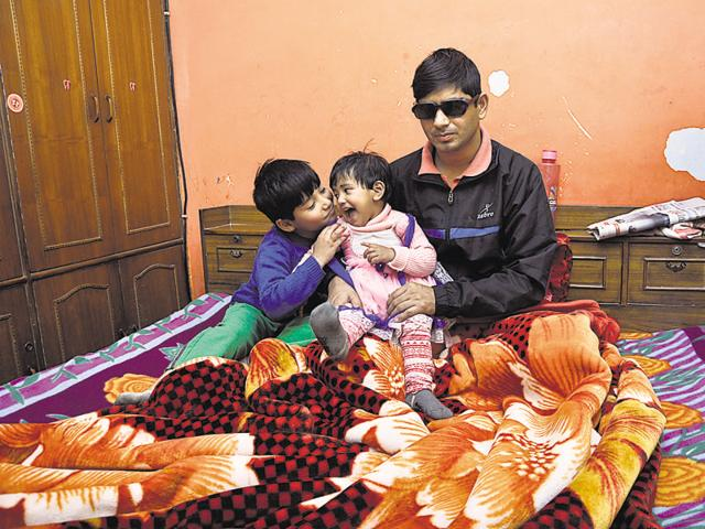 The commando, a Vasundhara resident, is suffering from impaired vision due to injuries sustained in the attack.
