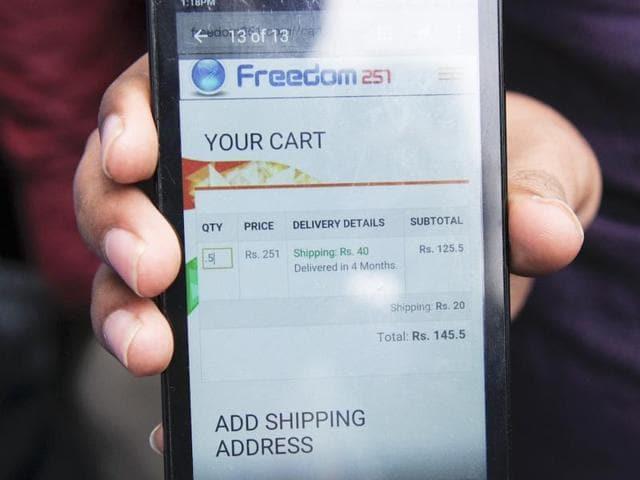 Freedom 251,Bharatiya Janata Party MP Kirit Somaiya,Freedom 251 ponzi bogus scam