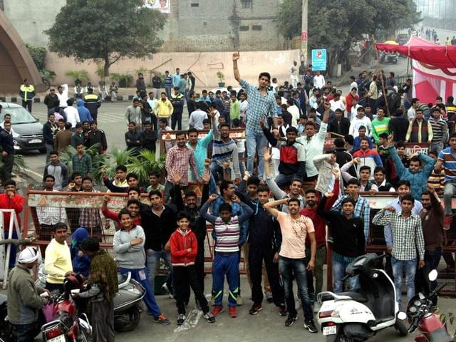 Haryana agitation