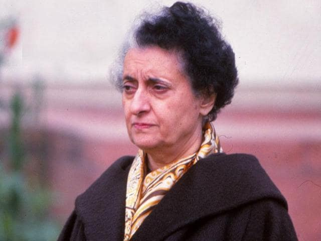 A file photo of former Prime Minister Indira Gandhi. Anti-British sentiments following her assassination delayed a helicopter deal with Britain, according to archival documents.
