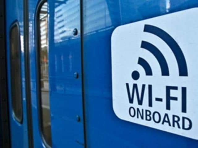 Google recently put WiFi hotspots on railways stations and now PressPlay is putting them on trains