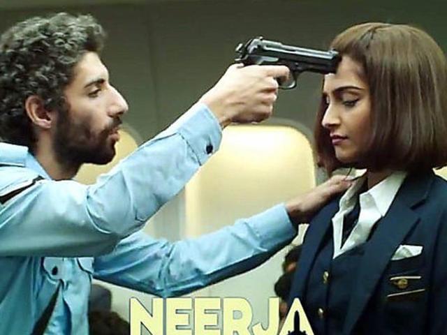 Sonam Kapoor plays the titular role of Neerja Bhanot in Neerja.