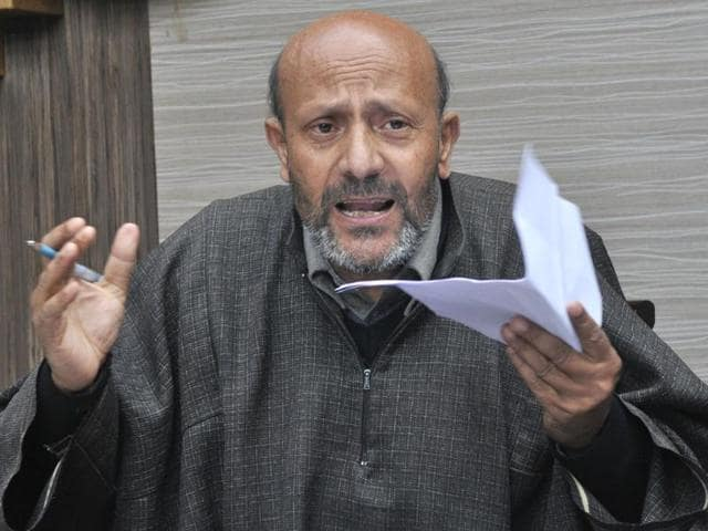 Independent MLA Engineer Rashid alleged that the protesters first raised slogans against him and then attacked his vehicle with rods, sticks and stones.