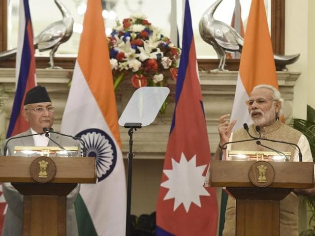 The two leaders deliberated on all aspects of the bilateral relationship, particularly the political situation in Nepal.