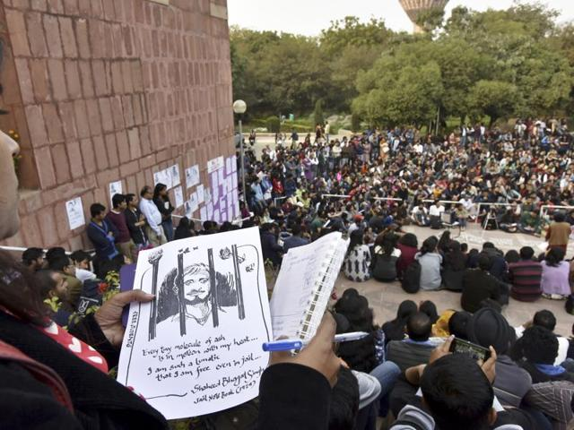 "The academics said they ""salute"" student protests at JNU, FTII, Hyderabad Central University, Jadavpur University, Allahabad University and others."