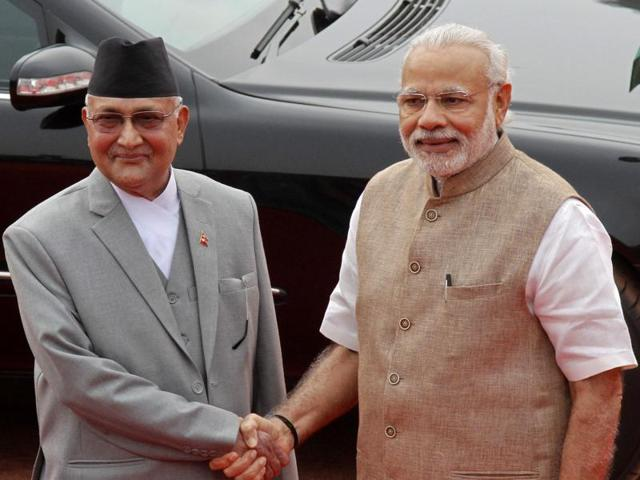 India Nepal,Oli in India,Narendra Modi