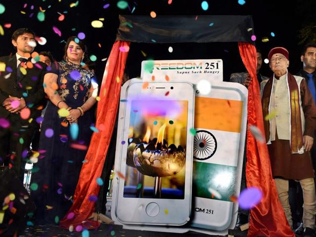 Bookings have stopped for Freedom 251, the phone promised by Ringing Bells Pvt Ltd and unveiled by former science and technology minister Dr. Murli Manohar Joshi. Deliveries are due by June.