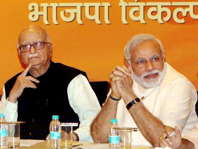 PM Modi,LK Advani,Ayodhya