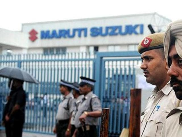 Maruti Suzuki vehicle production facllities in Manesar and Gurgaon have been temporarily halted due to the ongoing  Jat protests.