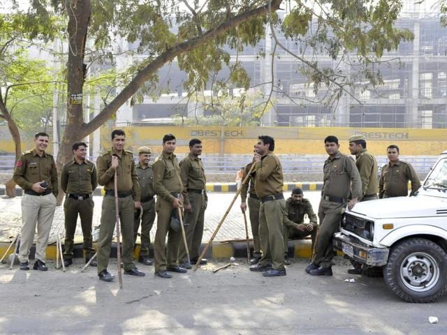 Two companies of Haryana Police have been stationed in the city to augment the strength of the short-staffed Gurgaon police.