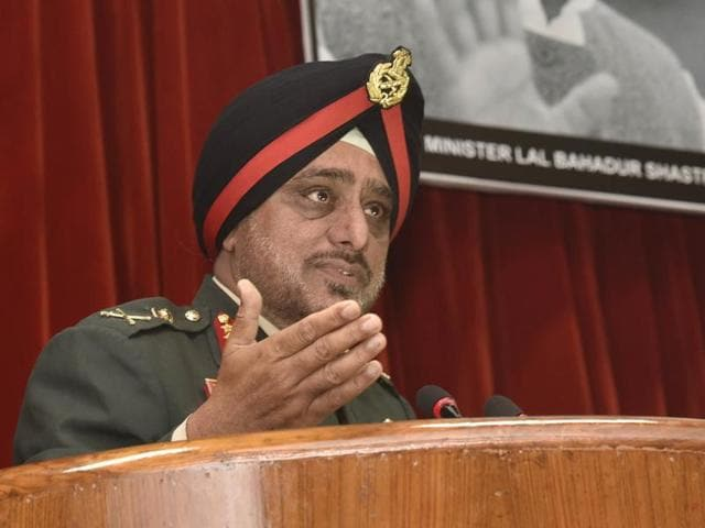 """We should continue with Afspa and DAA. They should be continue to be applied (in J&K),"" General Officer Commanding- in-Chief (GOC-in-C), Western Command, Lt Gen KJ Singh, told reporters."