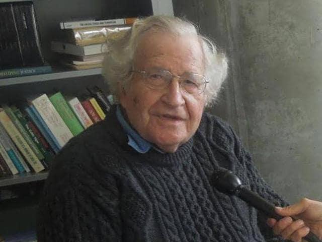 Noam Chomsky,JNU,JNU row