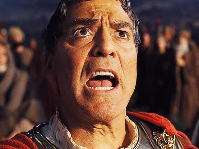 George Clooney in a still from Hail Caesar!