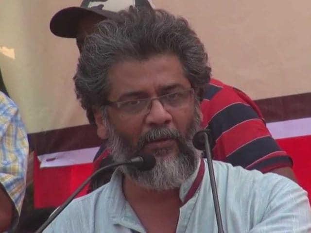 File photo CPI-ML (Liberation) general secretary Dipankar Bhattacharya.