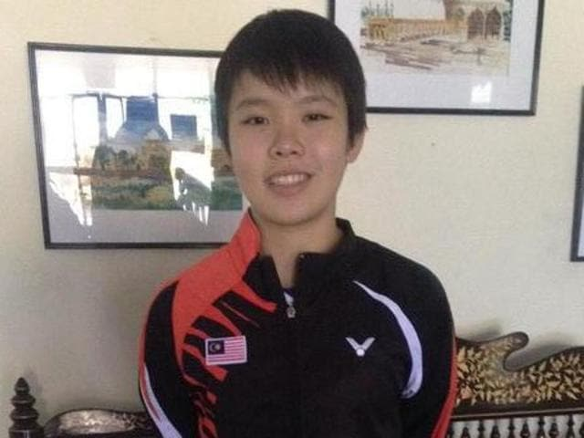 Goh Jin Wei, the 15-year-old junior world champion, is still getting used to the spotlight.(HT Photo)