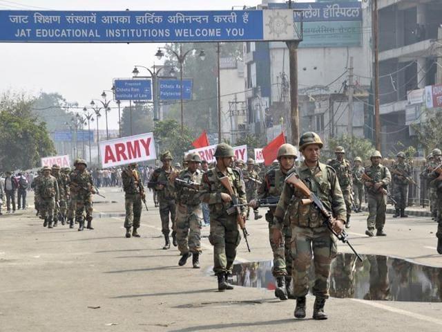 Jat quota stir,Haryana,Jat protesters