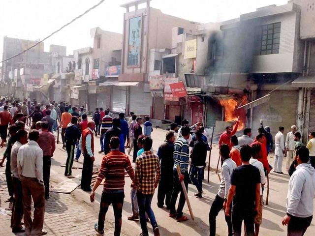 The violence of the week gone by are not just threatening to upset its plans to market Haryana as the most suitable investment destination, but also sharpened caste fault lines.
