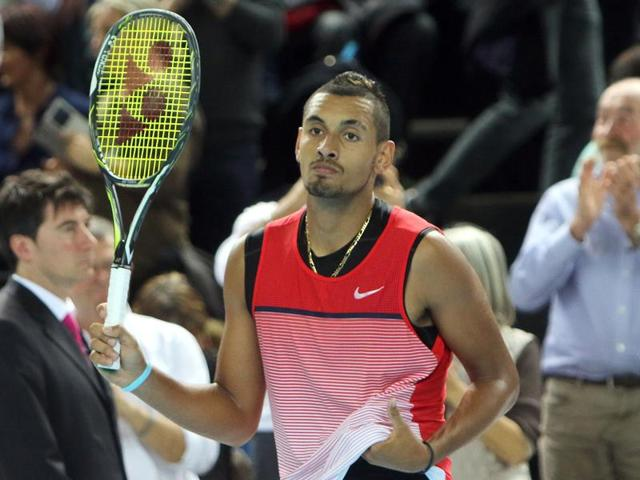 Nick Kyrgios beat top 10 players Tomas Berdych and Richard Gasquet en route to lifting the Marseille Open, his first ATP title.