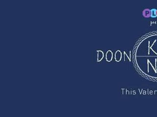 A poster of 'Doon Ke Na Doon' short film.