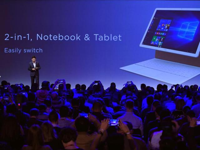 At a starting at $699, the MateBook challenges the iPad Pro and Surface Pro 4 with similar design, accessories and power