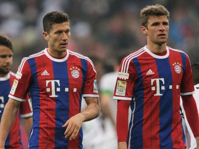 Robert Lewandowski and Thomas Mueller are closing in on the Bundesliga's record goal-haul for a partnership.