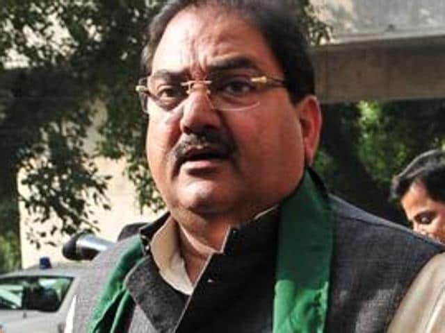 The leader of opposition in the Haryana assembly, Abhay Chautala.