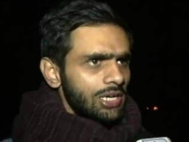 Umar Khalid and four others  who were charged with sedition have returned to the JNUcampus.