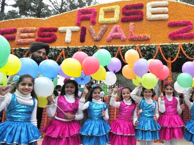Rose festival Sukhwinder Singh,Gulshan Tandon,Chandigarh