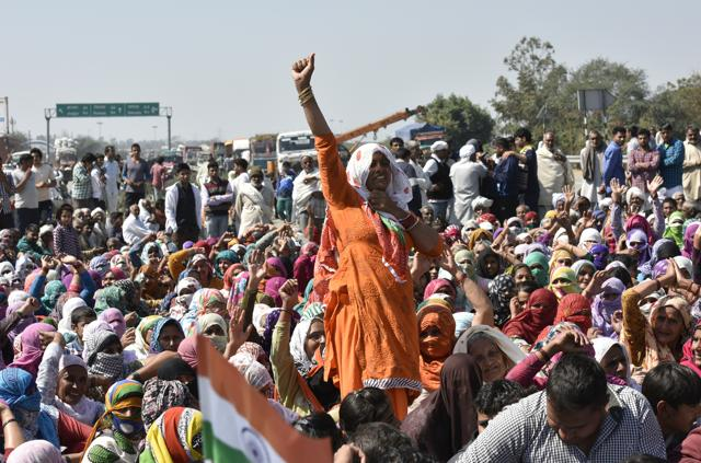 The violent protests by Jats in Haryana demanding job reservation has caused massive destruction across the state.