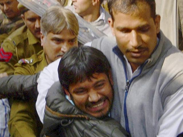 JNUSU president Kanhaiya Kumar was arrested on charges of sedition by Delhi Police after an FIR based on a video clip.