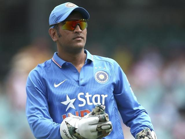 Dhoni, 34, has a history of back trouble, but he has in the past played despite discomfort.