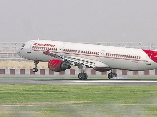 Air India urination