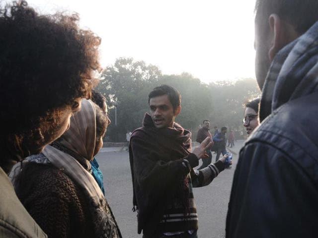 Umar Khalid,JNU row,Sedition case