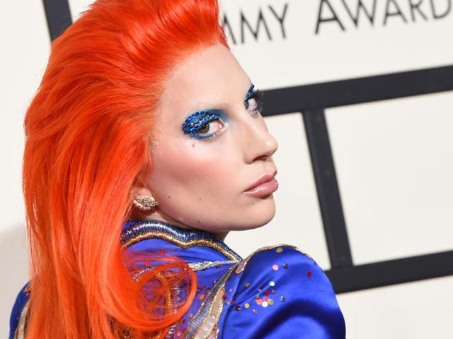 Lady Gaga,David Bowie,Grammy Tribute