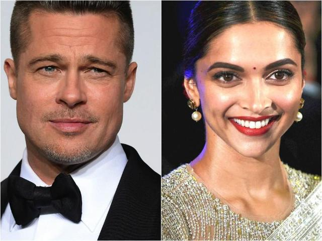 God, let this be real: Deepika Padukone signs film opposite Brad Pitt?
