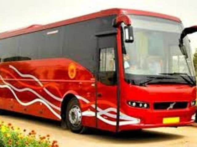 The luxury Volvo buses via the Chandigarh-Delhi National Highway-1  would resume from 5pm on Wednesday,