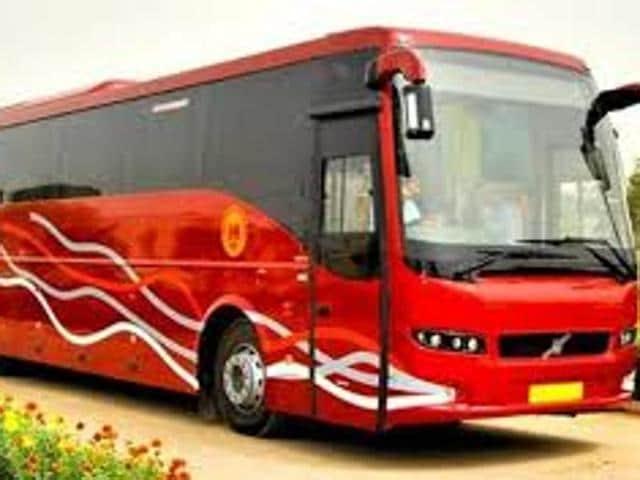Volvo buses,National Highway 1,Jats quota stir