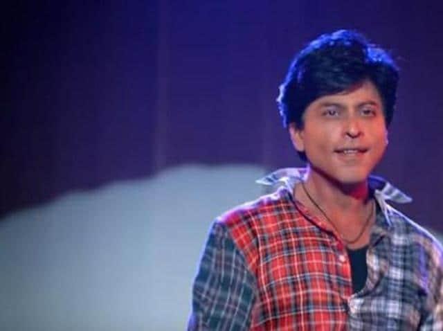 Shah Rukh Khan in and as Fan. (YouTube)